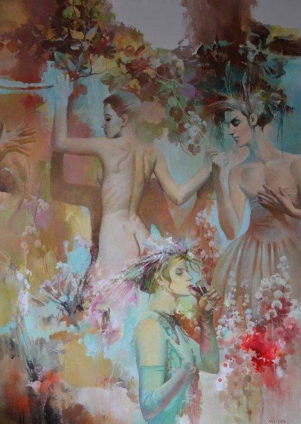 glamour painting vlad tasoff