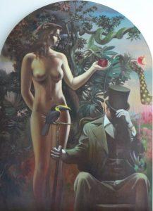 Eden Painting by Vlad Tasoff