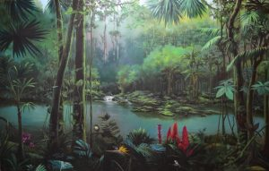 Jungle Painting by Vlad Tasoff