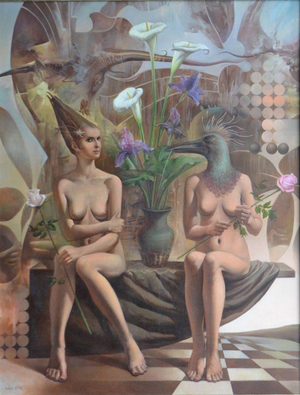 Dialogue painting Vlad Tasoff