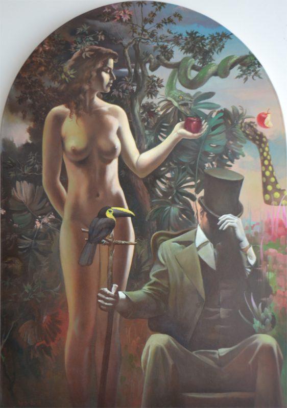 Eden painting Vlad Tasoff